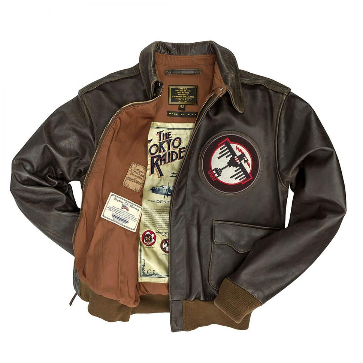 materiales de alta calidad los más valorados diseño atemporal Chaqueta Aviador. Tokyo Raiders A-2 Jacket