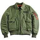 Cazadora Piloto Militar<br>CWU VF  Flight jacket
