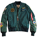 <p>Cazadora Piloto Parches Alpha Industries.</p>