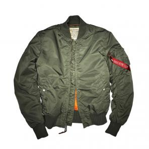 Cazadora Bomber MA-1<br>Alpha Industries