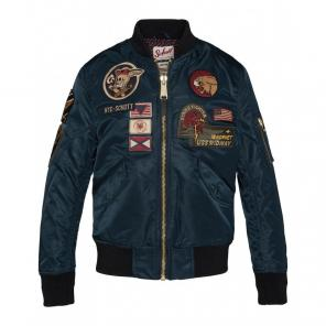Cazadora Piloto MA-1 With patches<br>Schott nyc