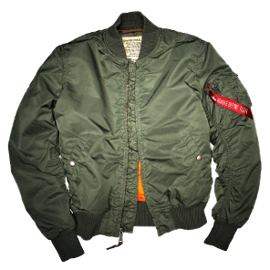 Cazadora Bomber MA-1<br>Alpha Industries