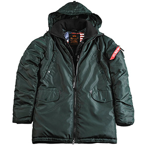 Parka Militar Alpha Industries<br>Explorer II