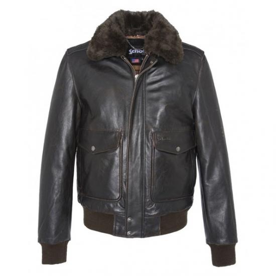 Cazadora A - 2 Schott New York<br>  Flight jacket 100th Anniversary