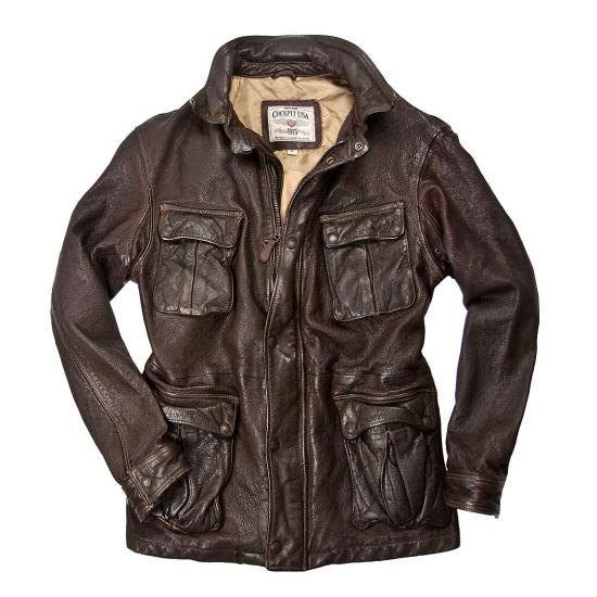 Clásico Chaquetón Dispatch Motorcycle Jacket.<br>Cockpit USA