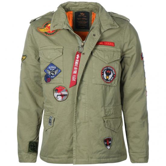 Chaqueta M-65 ALPHA CW PATCH
