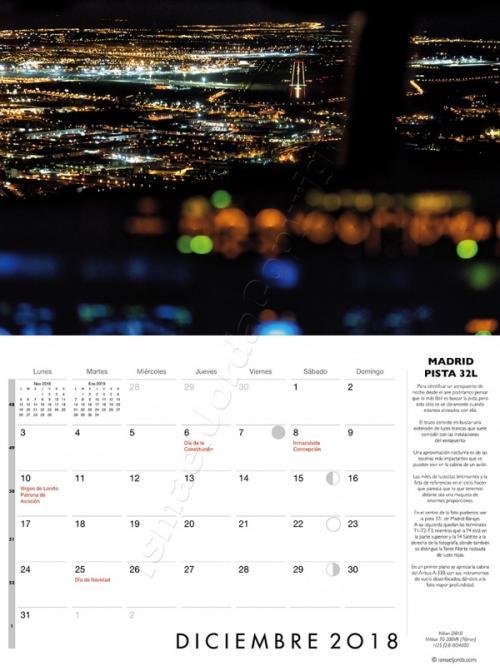 Calendario aviación 2018