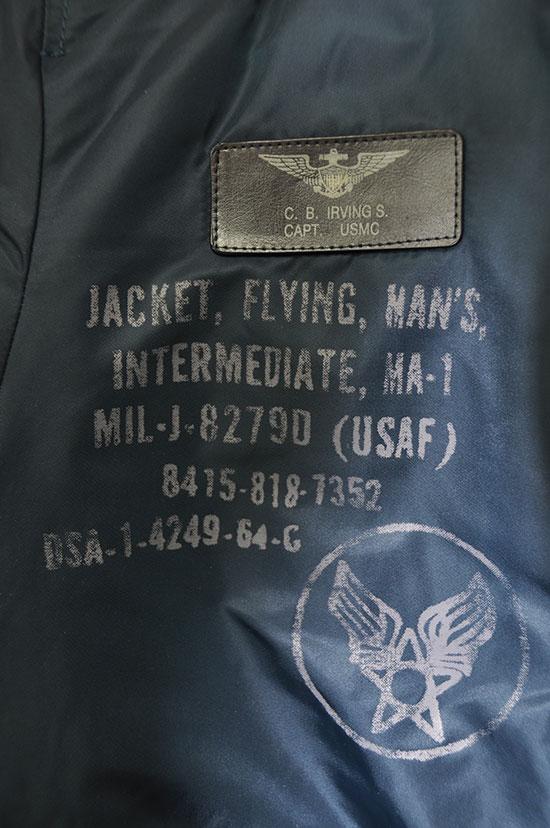 Cazadora Bomber MA-1 USAAF Schott nyc