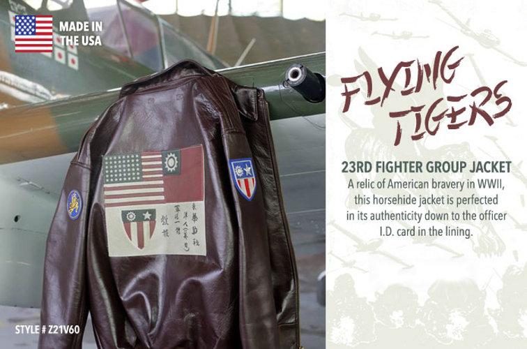 Cazadora aviación Flying Tigers
