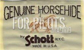 Cazadora cuero Schott nyc Horsehide
