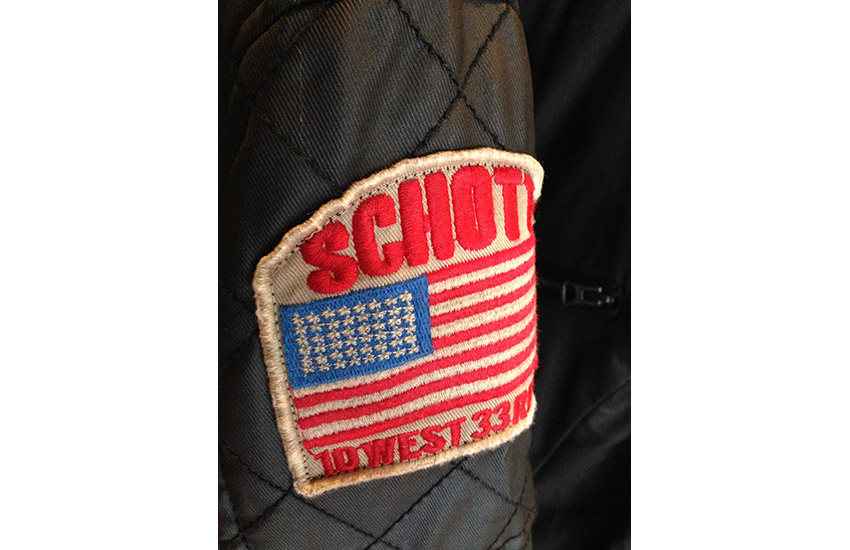Chaqueta Racing Schott nyc.